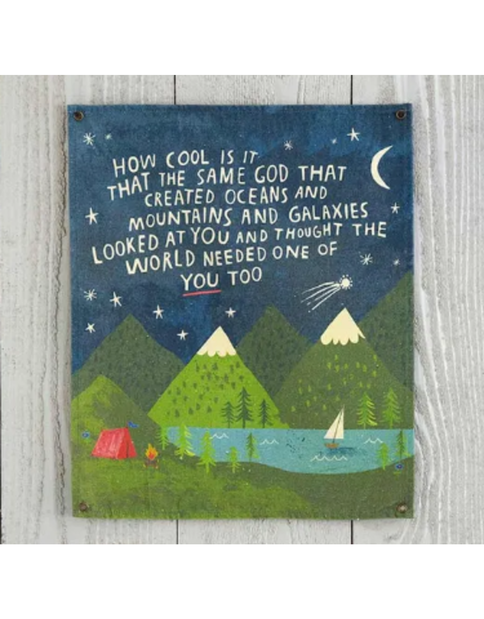 Natural LIfe Wall Hanging, How Cool Is God