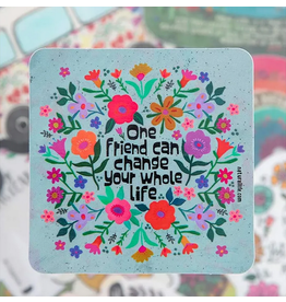Natural LIfe Vinyl Sticker, One Friend