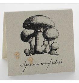 Natural History Mushroom Post E/R - gold