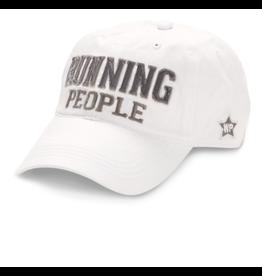 Running People Ball Hat, white