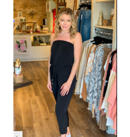 Ariella Tube Top Jumpsuit with Pockets