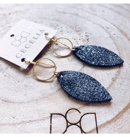 Cecelia Black Sugar Small Leather E/R
