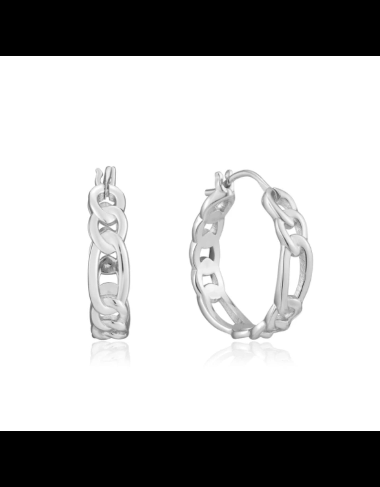 Ania Haie Figaro Chain Hoop Earrings