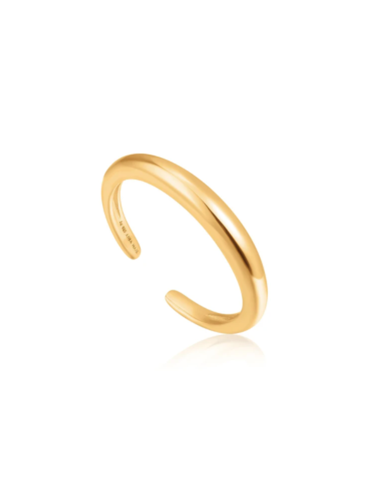 Ania Haie Luxe Band Adjustable Ring