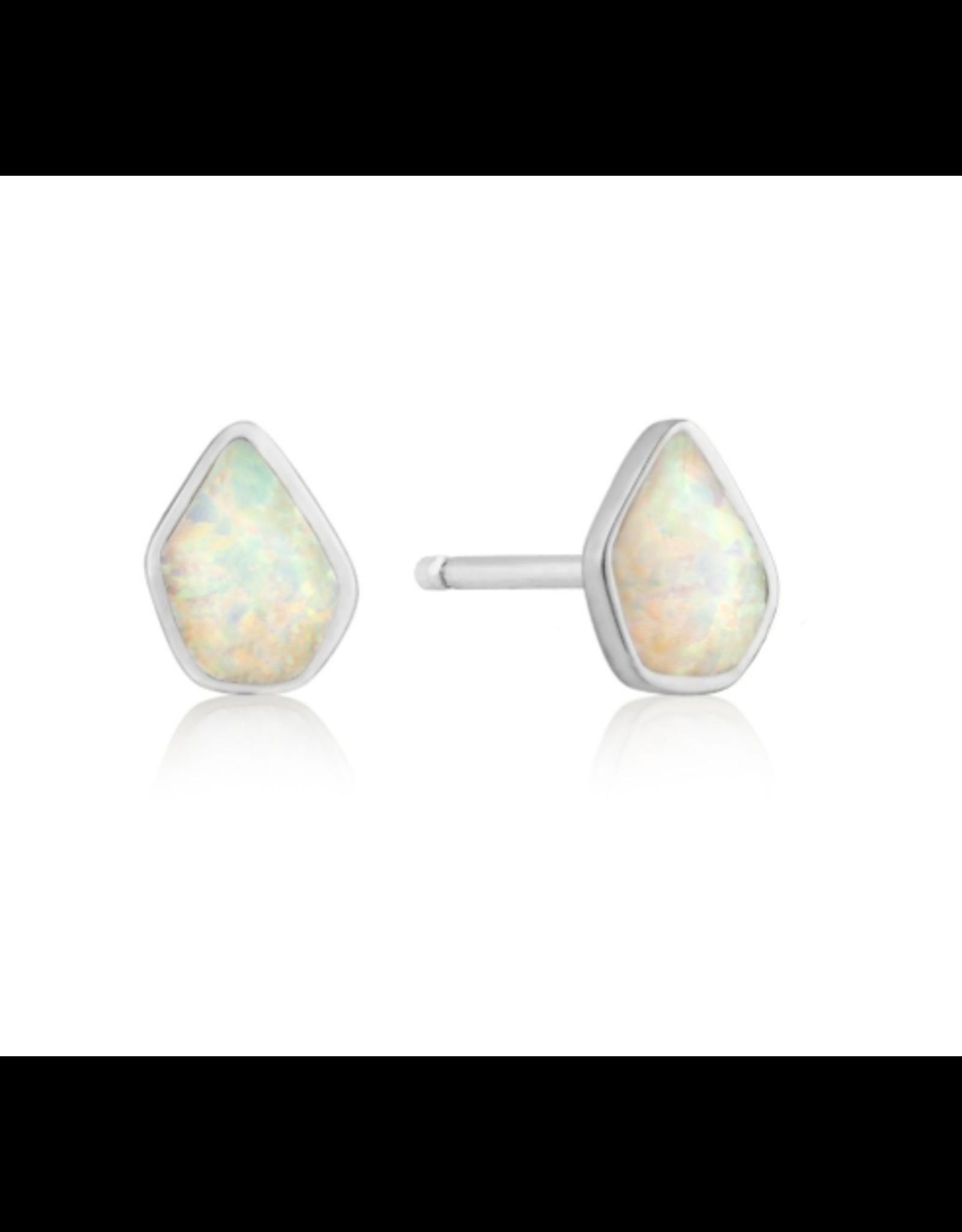 Ania Haie Opal Colour Stud E/R, silver