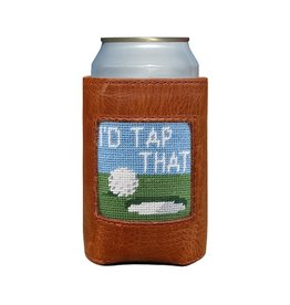 Smathers & Branson S&B Needlepoint Can Cooler, I'd Tap That
