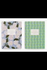 Hydrangea Pocket Notebooks, Set of 2