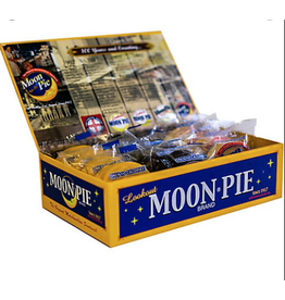 MoonPie Historical Cigar Box w/12 mini moonpies