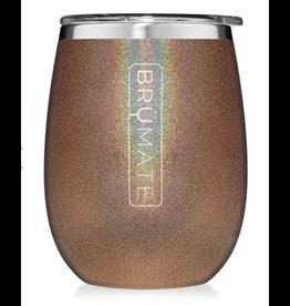 Uncork'd XL 14OZ Wine Tumbler, glitter gold