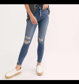 Free People Sabrina Super Skinny Jeans,