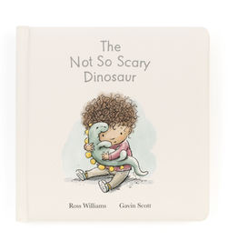 Jellycat Book, The Not So Scary Dinosaur