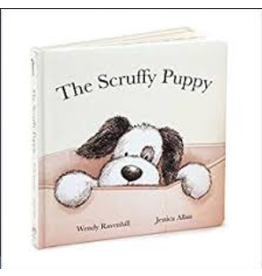 Jellycat Book, Scruffy Puppy