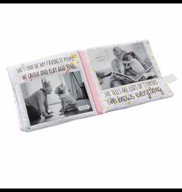Mud Pie Grandma & Me Fabric Book