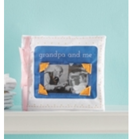 Mud Pie Grandpa & Me Fabric Book