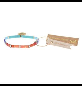 Good Karma Charm Bracelet, Love Always Wins, multi/sparkle/gold