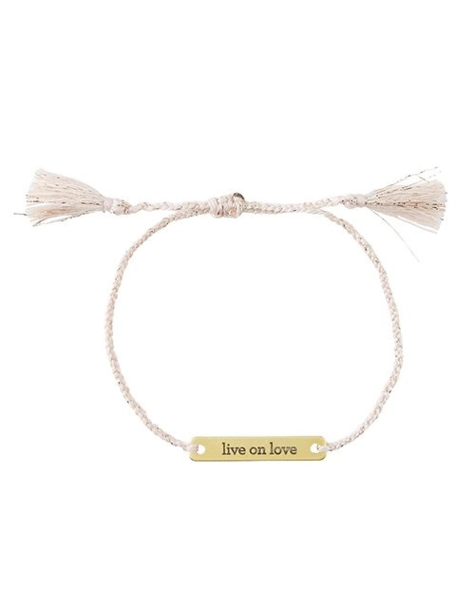 Joy In A Jar Bracelet, Live On Love