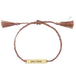 Joy In A Jar Bracelet, You I Love