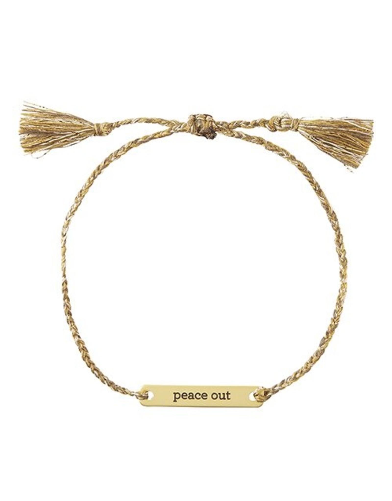 Joy In A Jar Bracelet, Peace Out