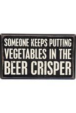 Box Sign-Beer Crisper