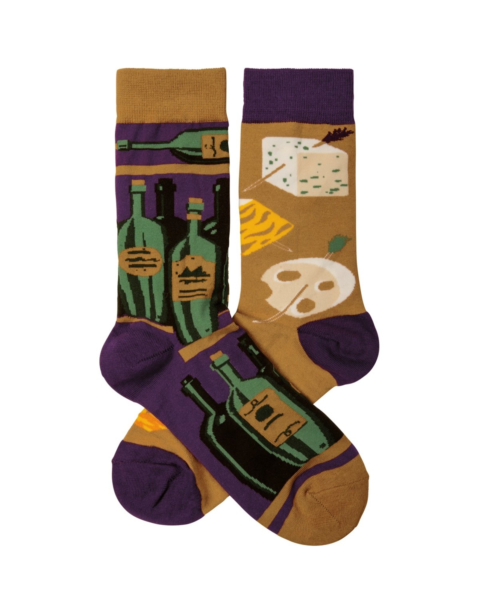 Socks, Wine & Cheese