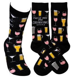 Socks-Drinking Socks