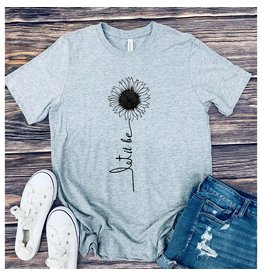 Bella+Canvas Let It Be Sunflower Tee