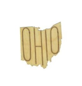 Home State: Ohio Coasters, Set of 4