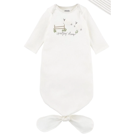 Mud Pie Counting Sheep Tie Gown, 0-3 months