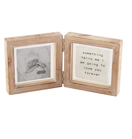 Mud Pie Glass Hinged Frame, Love You Forever