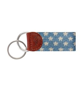 Smathers & Branson S&B Needlepoint Key Fob, Stars & Stripes