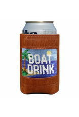Smathers & Branson S&B Needlepoint Can Cooler, Boat Drink