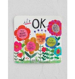 Natural LIfe Vinyl Sticker, It's Okay