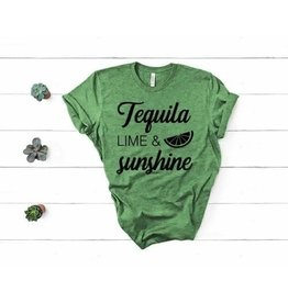 MidWest Tees Tequila Lime and Sunshine Tee