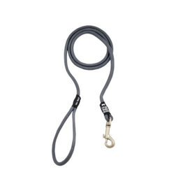 S/M Rope Leash, charcoal gray