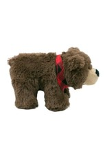 Plush Bandana Bear Dog Toy
