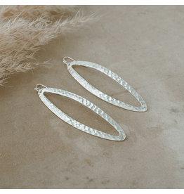 Glee Amazon Earrings, silver