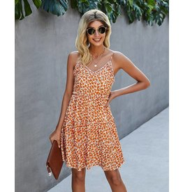 ePretty Spaghetti Strap Flower Dress