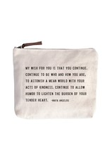 Canvas Bag, My Wish For You (Maya Angelou)