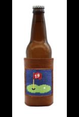 Smathers & Branson S&B Needlepoint Bottle Cooler, 19th Hole