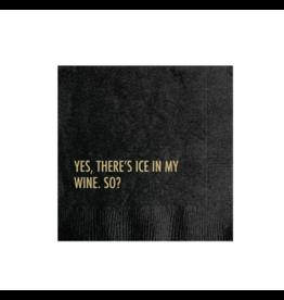 Cocktail Napkin, Ice Wine