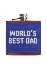 Smathers & Branson S&B Flask, World's Best Dad
