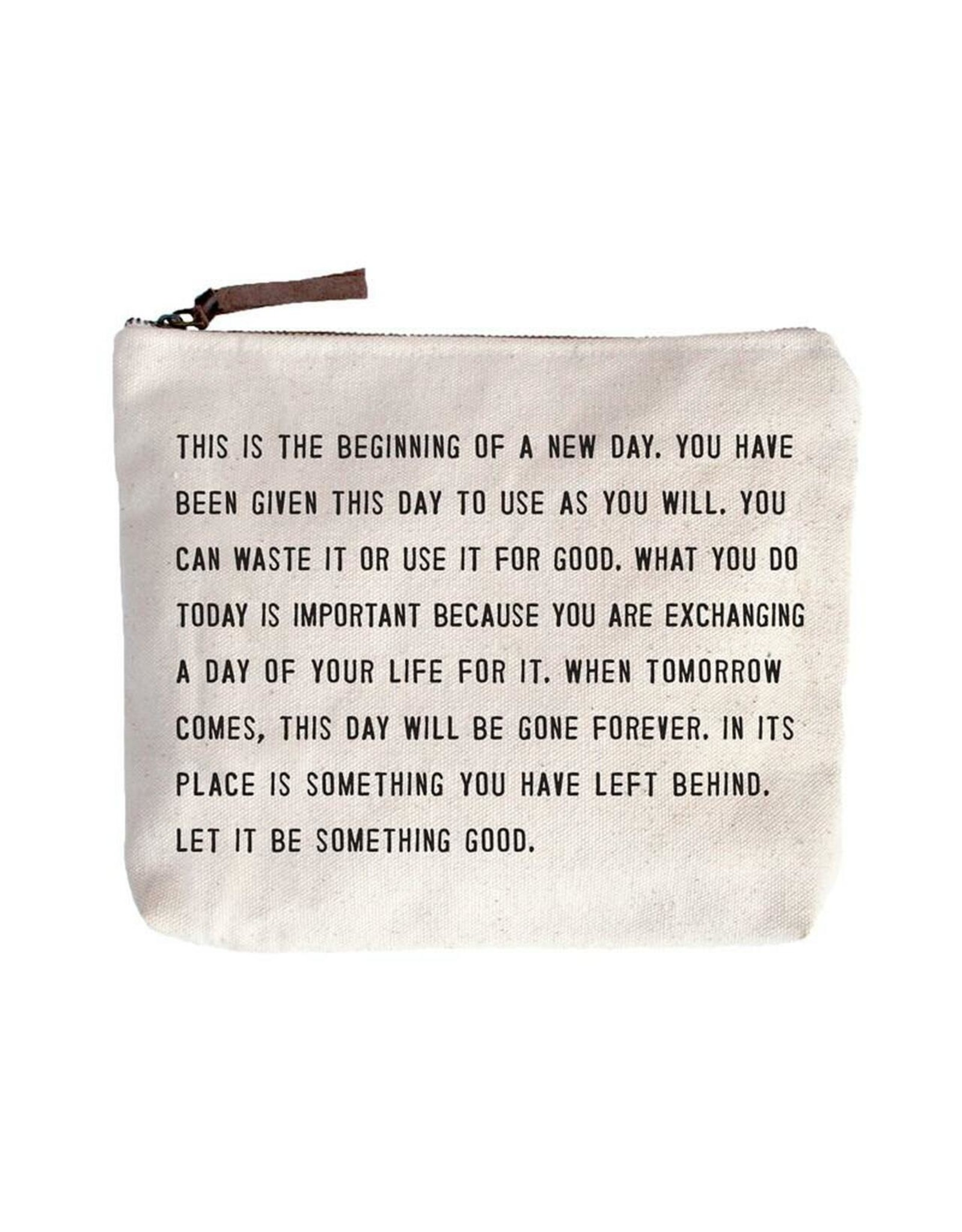 Canvas Bag, This is the Beginning