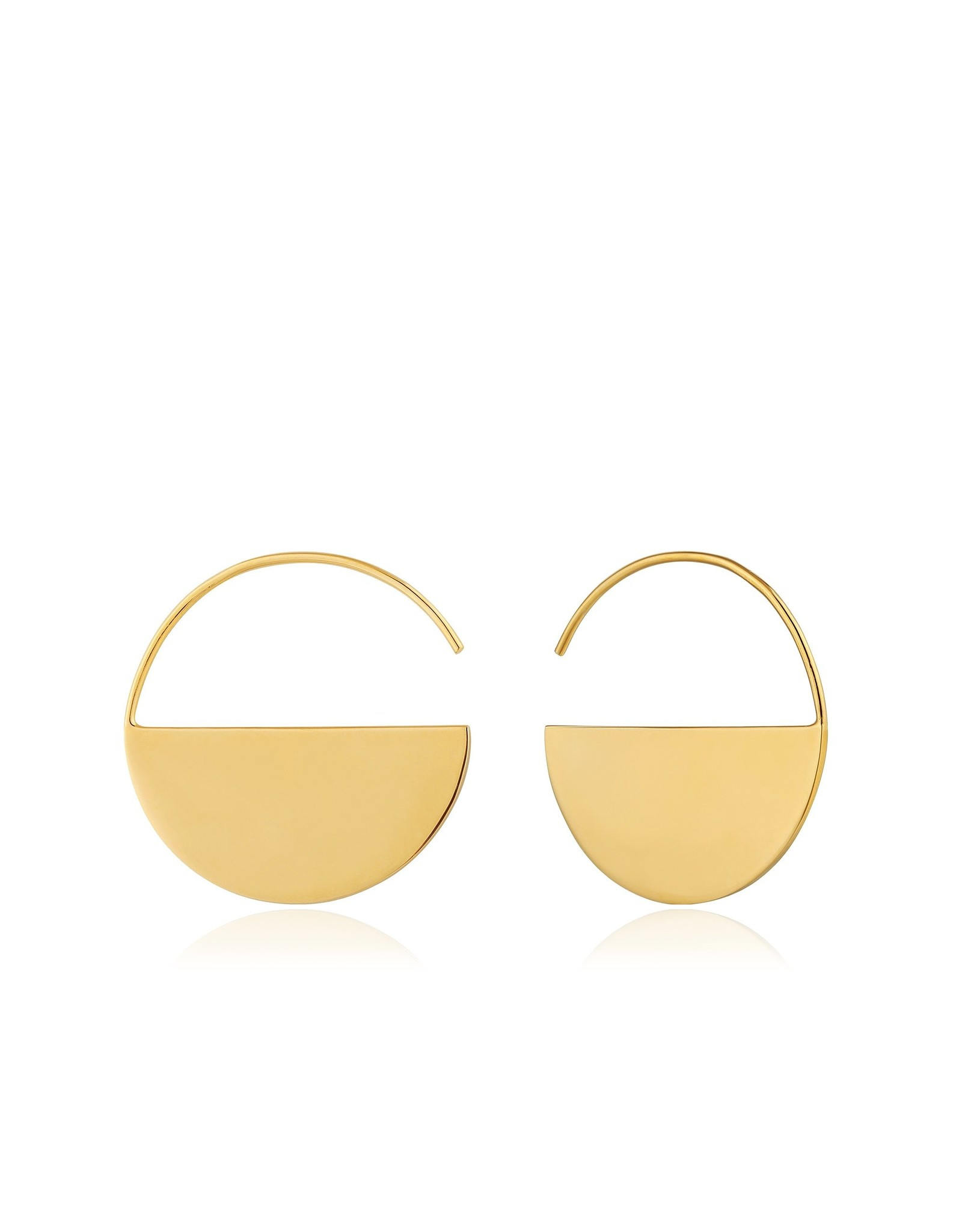 Ania Haie Geometry Hoop E/R, Gold