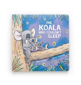 Jellycat Book, The Koala Who Couldn't Sleep
