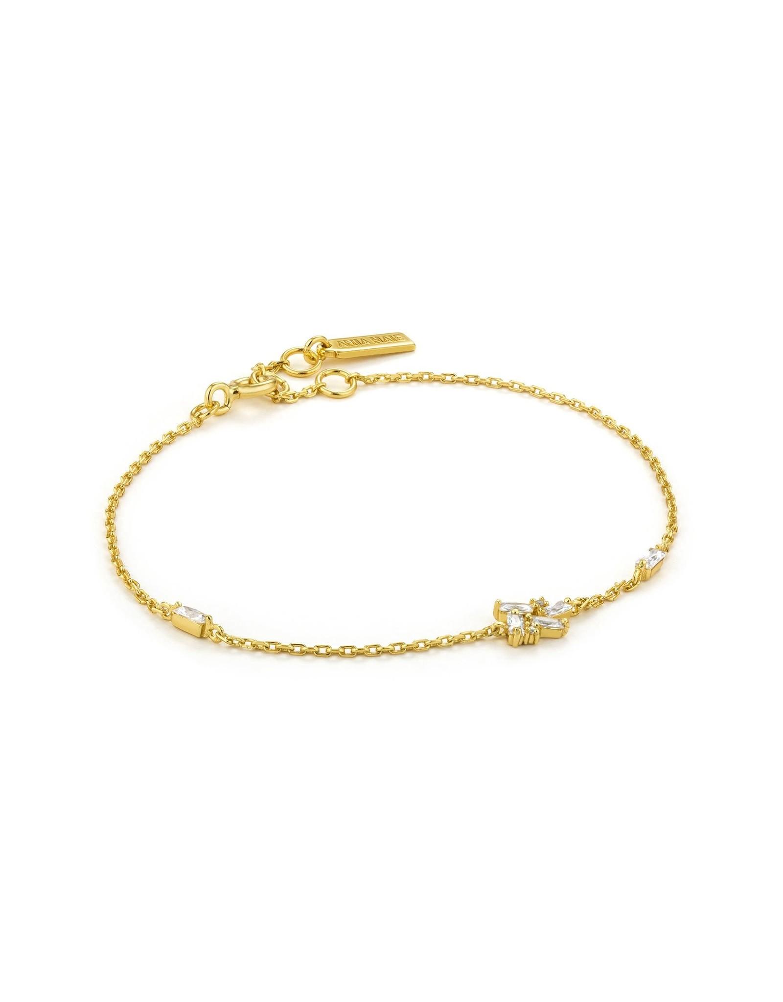 Ania Haie Cluster Bracelet, Gold