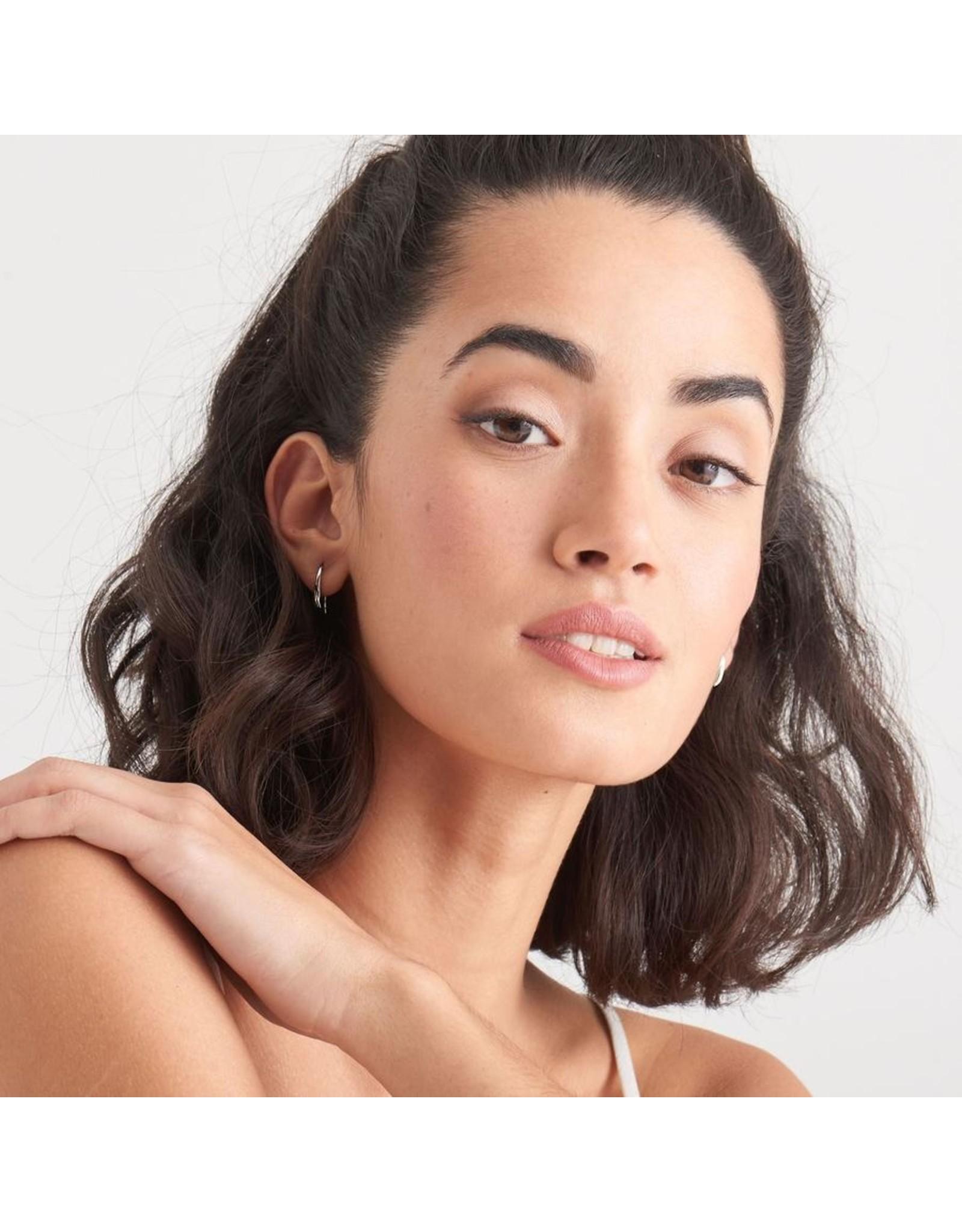Ania Haie Luxe Hook Earrings, Silver