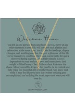 For Her Pendant Necklace, Welcome Home
