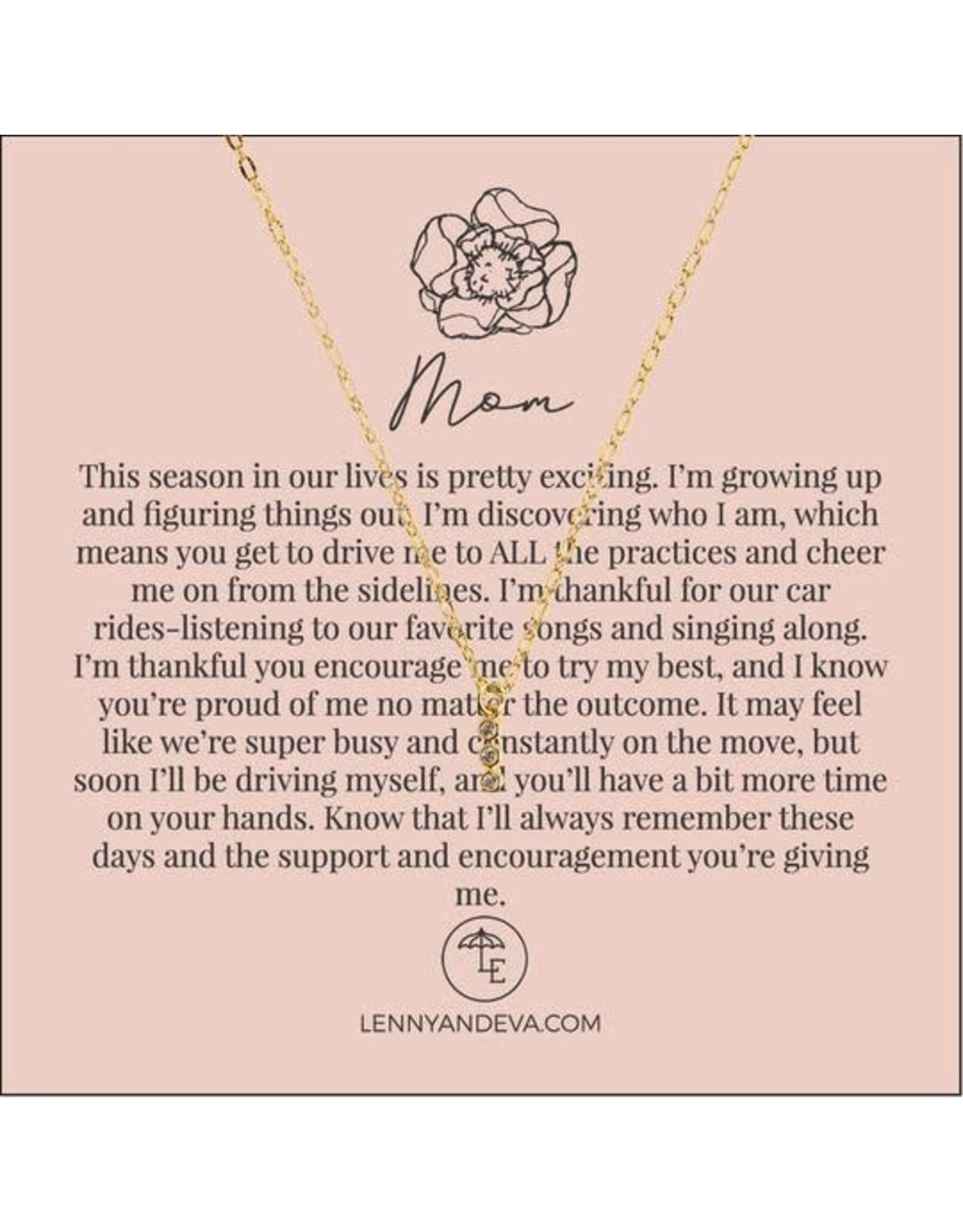 For Her Pendant Necklace, Mom 2