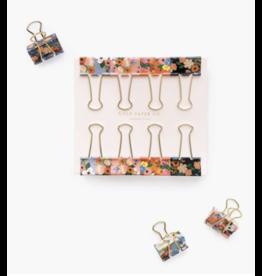 Binder Clips, Lively Floral