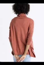 Newport Turtleneck Sweater,  Sienna